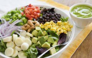 Балансирана диета с почивки